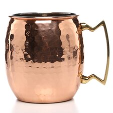 Hammered 16 Oz Moscow Mule Mug (Set of 4)