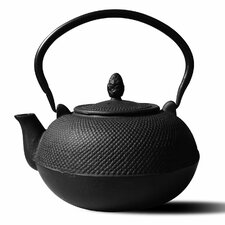 <strong>Old Dutch International</strong> Tetsubin 101 Oz. Cast Iron Hakone Teapot/Wood Stove Humidifier