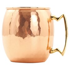 Moscow 24 Oz. Hammered Mule Mug (Set of 4)