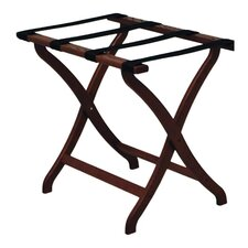 <strong>Wooden Mallet</strong> Deluxe Luggage Rack