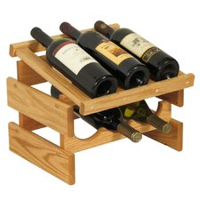 <strong>Wooden Mallet</strong> Dakota 6 Bottle Wine Rack