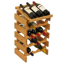 <strong>Wooden Mallet</strong> Dakota 15 Bottle Wine Rack