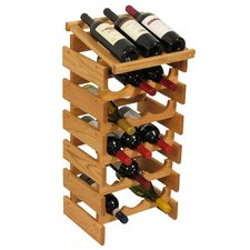 <strong>Wooden Mallet</strong> Dakota 18 Bottle Wine Rack