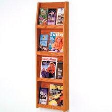4 Pocket Magazine / 12 Pocket Brochure Wall Display