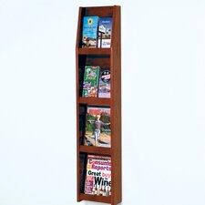 4 Magazine / 8 Brochure Wall Display