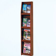 4 Pocket Magazine / 8 Pocket Brochure Wall Display
