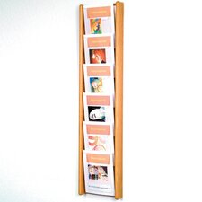 6 Pocket Wall Display