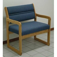 <strong>Wooden Mallet</strong> Valley Bariatric Guest Chair with Designer Fabric