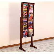 <strong>Wooden Mallet</strong> Twelve Pocket Contemporary Floor Display