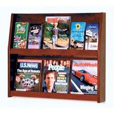 6 Pocket Magazine / 12 Pocket Brochure Wall Display