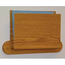 <strong>Wooden Mallet</strong> Open End Single Chart Holder - HIPPAA Compliant