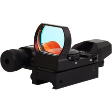 Laser Dual Shot Reflex Sight with Dove Tail in Black