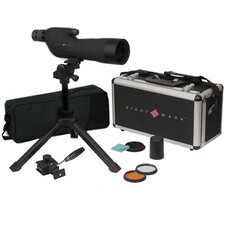 15-45x60 Straight Eyepiece Spotting Scope Kit