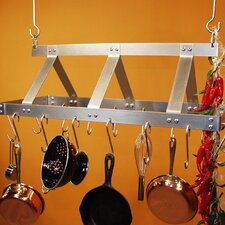 <strong>HSM Racks</strong> Galley Rectangular Hanging Pot Rack