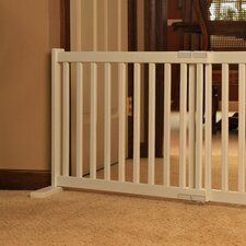 <strong>Dynamic Accents</strong> Kensington All Wood Free Standing Pet Gate