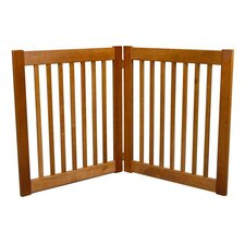 <strong>Dynamic Accents</strong> Highlander 2 Panel Free Standing EZ Pet Gate