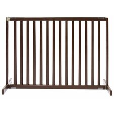 "30"" Large Kensington Pet Gate in Mahogany"