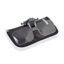 ClipandFlip 1.5x Clip-on, Flip-up Magnifying Lens for Eyeglasses