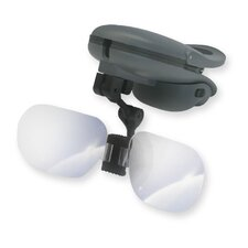 TyMate Magnifier with Visor Attachment in Grey