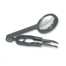 Fish'n Grip Magnifier with Attached Precision Tweezers