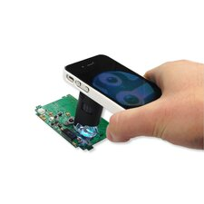 MicroMax Plus LED 60x-100x Pocket Microscope with iPhone4/4S Adapter