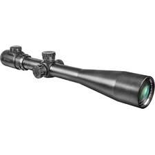 "10-40x50 IR, Riflescope, Black Matte, 30mm, with 5"" Shade and 5/8"" Rings, IR Mil-Dot"