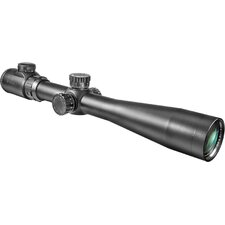 "<strong>Barska</strong> 3.5-10x40 IR, Riflescope, Black Matte, 30mm, with 5"" Shade and 5/8"" Rings, IR Mil-Dot"