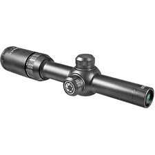 "<strong>Barska</strong> 1.5-4.5x20, Tactical Riflescope, Black Matte, 1"", with 5/8"" Rings, Mil-Dot"