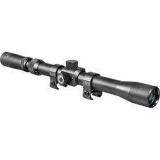 <strong>Barska</strong> 3-7x20 Rimfire Riflescope, Black Matte, 30/30 with Std ring