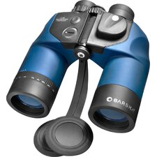 <strong>Barska</strong> 7x50 WP Deep Sea Binoculars, with Internal Rangefinder and DIGITAL Compass, Center Focus, FMC, Blue Lens