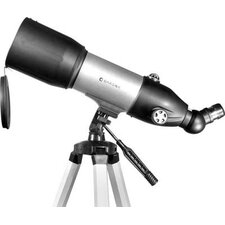 <strong>Barska</strong> 133 Power, 40080 Starwatcher Refractor Telescopes, PH, Silver, Astronomy Software