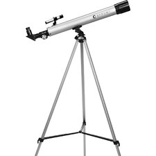 450 Power, 60050 Starwatcher Refractor Telescopes, PH, Silver, Astronomy Software