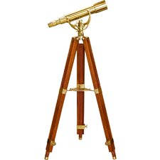 15-45x50 Spyscope, Anchormaster Telescopes with Mahogany Floor Tripod