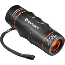 <strong>Barska</strong> 8x22 Blueline Binoculars Golf Scope, Waterproof, Yards, Ruby Lens, Clam