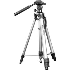 "Deluxe Tripod, Extendable to 63.4"", Carrying Case"