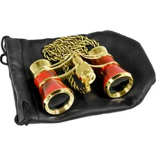 3x25 Blueline Binoculars Opera Glass with Necklace