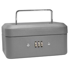 <strong>Barska</strong> Extra Small Gray Combination Lock Box