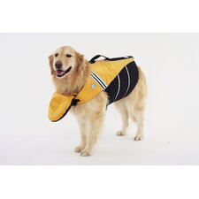 Dog Flotation Jacket in Yellow