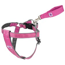 Mutt Gear™ Dog Step In Harness in Pink and Gray