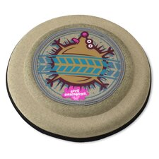 Flying Discs Hedgehog Dog Toy in Tan