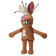 Cast of Characters™ Rabbit Dog Toy in Brown