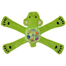 Hippie Pentas Dog Toy in Green
