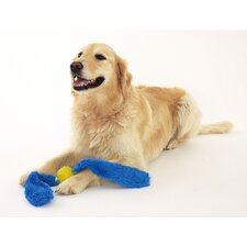 Tails Dog Toy in Blue