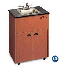 "Premier 26"" x 18"" Portable Handwashing Station with Storage Cabinet"