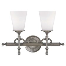 Moorehouse 2 Light Bath Vanity Light