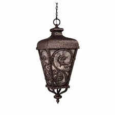<strong>Savoy House</strong> Spaniard 3 Light Outdoor Hanging Lantern