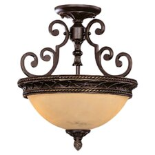 Ladoga 2 Light Semi Flush Mount