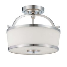 Mason 2 Light Semi Flush Mount