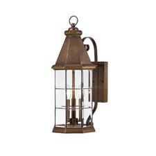 Carter 3 Light Outdoor Wall Lantern