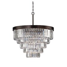 Tierney 9 Light Crystal Chandelier